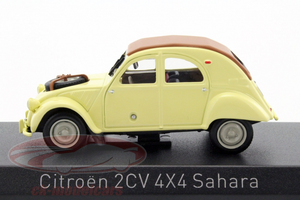 ck modelcars 150011 citroen 2cv 4x4 sahara year 1961 yellow 1 43 norev ean 3551091500117. Black Bedroom Furniture Sets. Home Design Ideas