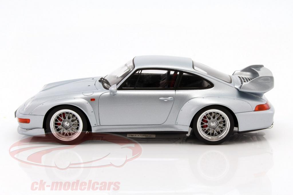 ck modelcars zm098 porsche 911 993 gt silver 1 18 gt spirit ean 9580010302413. Black Bedroom Furniture Sets. Home Design Ideas