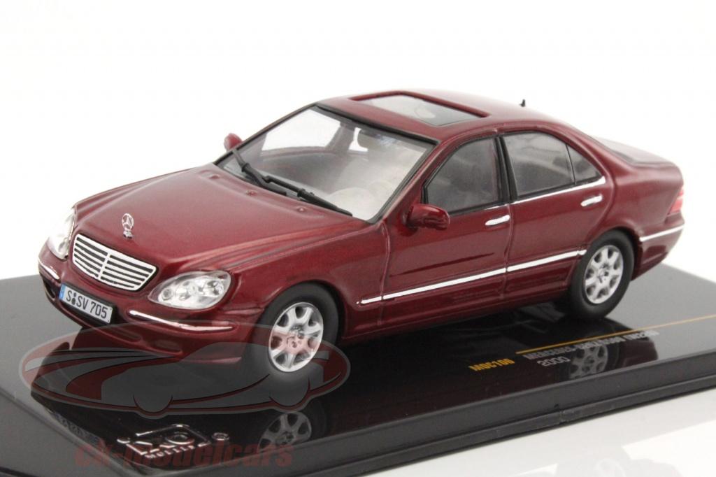 Ck modelcars moc106 mercedes benz s500 w220 year 2000 for 2000 s500 mercedes benz