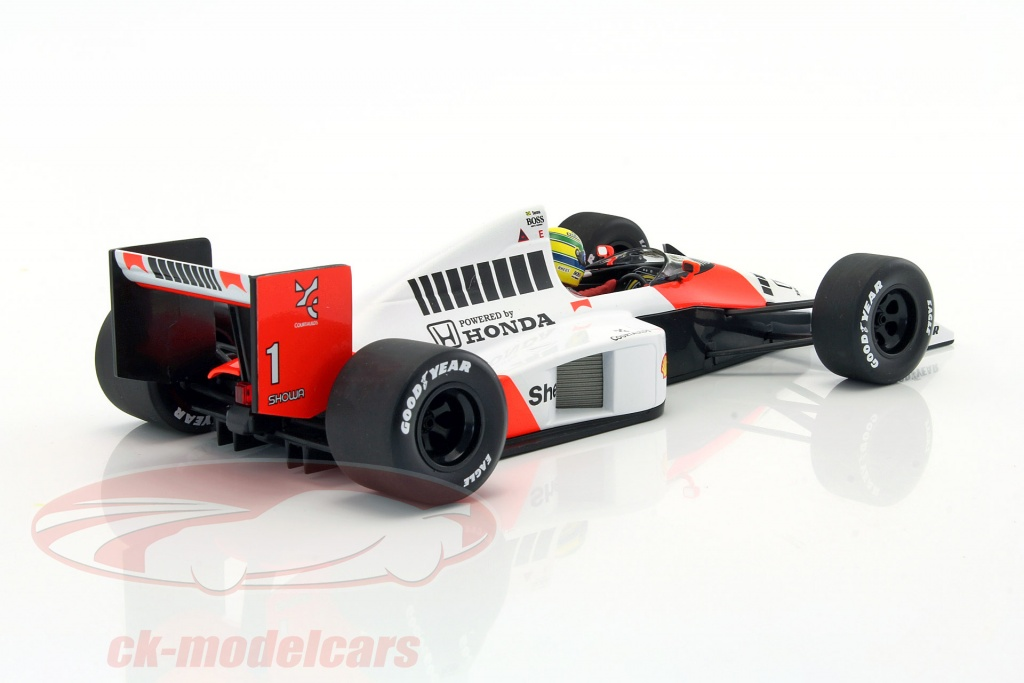 ck modelcars 540891801 ayrton senna mclaren mp4 5 1 formule 1 1989 1 18 minichamps ean. Black Bedroom Furniture Sets. Home Design Ideas