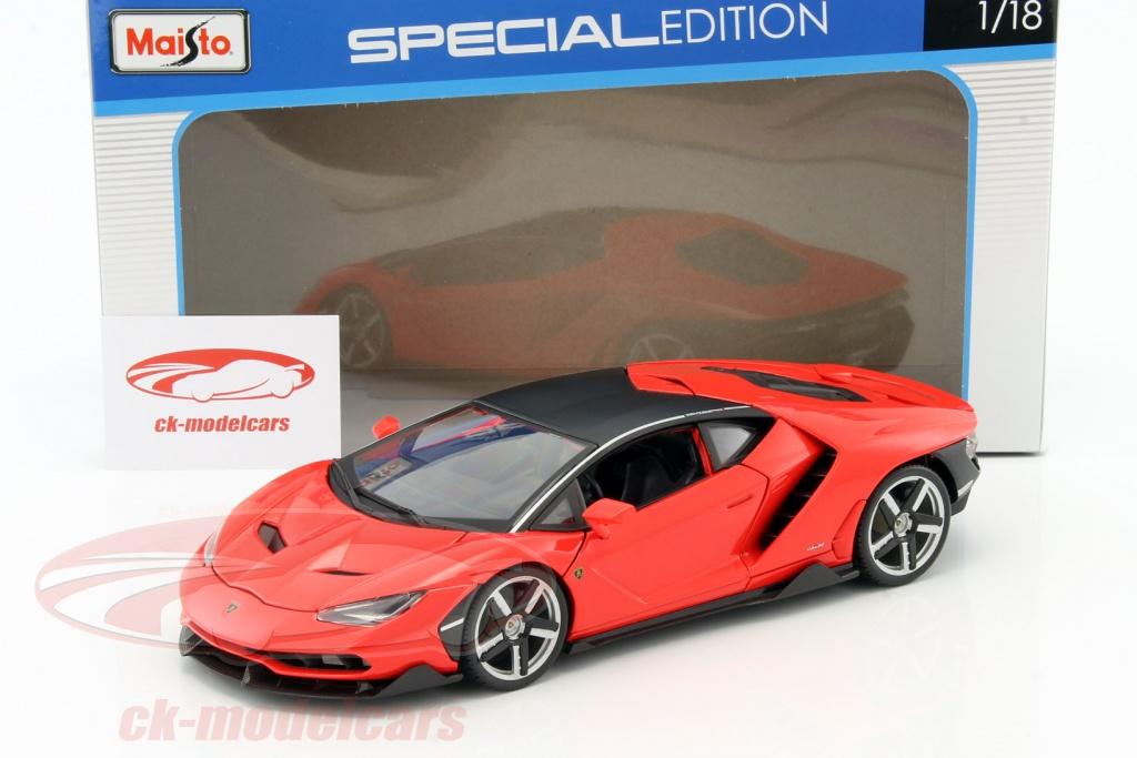 Maisto 1 18 Lamborghini Centenario Lp 770 4 Year 2016 Red 31386r