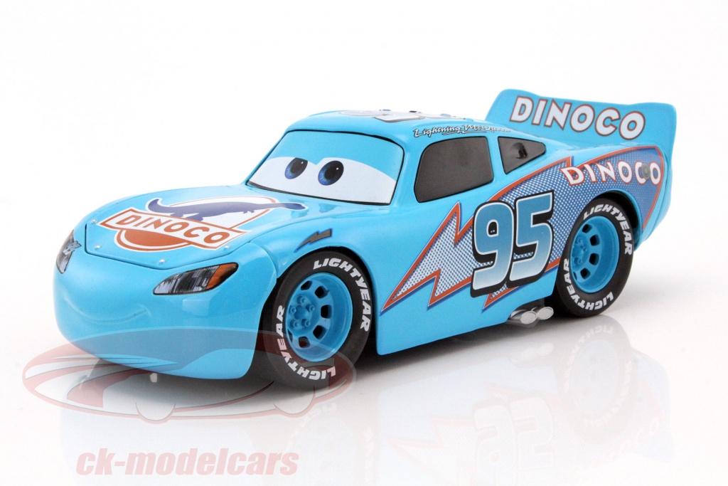 CKModelcars  98100 Dinoco Lightning McQueen Disney Cars blue 1
