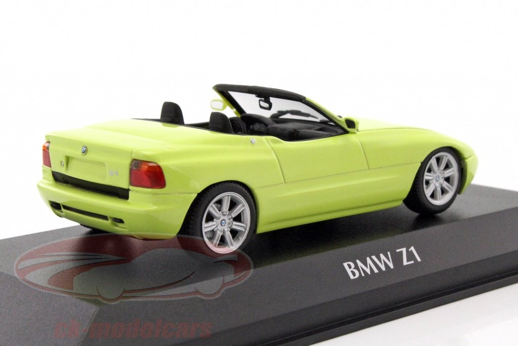 ck modelcars 940020100 bmw z1 e30 year 1991 light yellow 1 43 minichamps ean 4012138143555. Black Bedroom Furniture Sets. Home Design Ideas