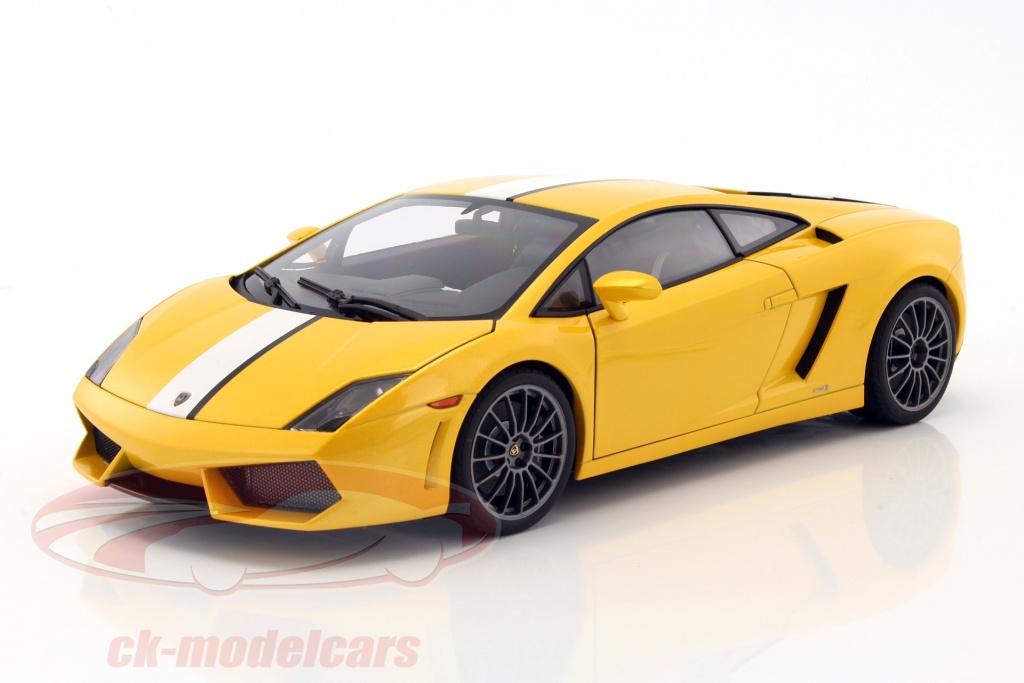 Lamborghini Gallardo LP550 2 Valentino Balboni Edition Yellow Metallic 1:18  AUTOart