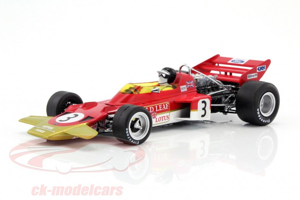 CK-Modelcars - 18273: Jochen Rindt Lotus 72 #3 World Champion ...