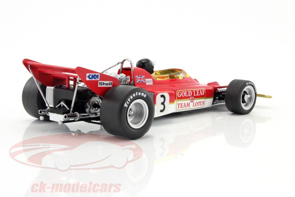 CK-Modelcars - 18273: Jochen Rindt Lotus 72 #3 World Champion Spain ...