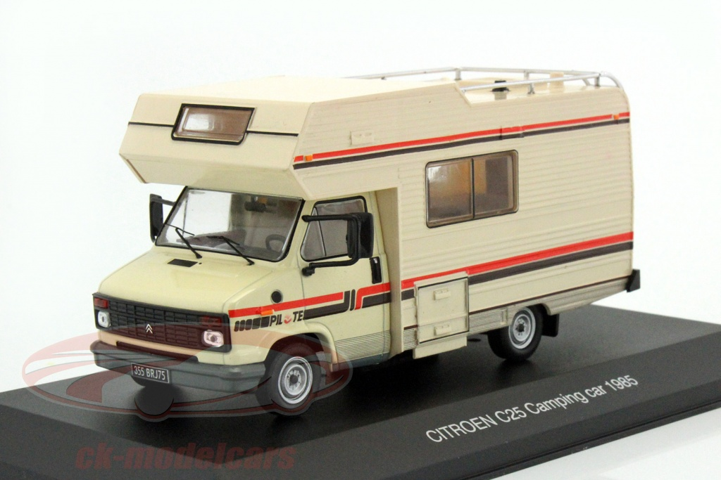 ck modelcars ixocac001 citroen c25 camping car year 1985 beige 1 43 ixo ean 214170. Black Bedroom Furniture Sets. Home Design Ideas