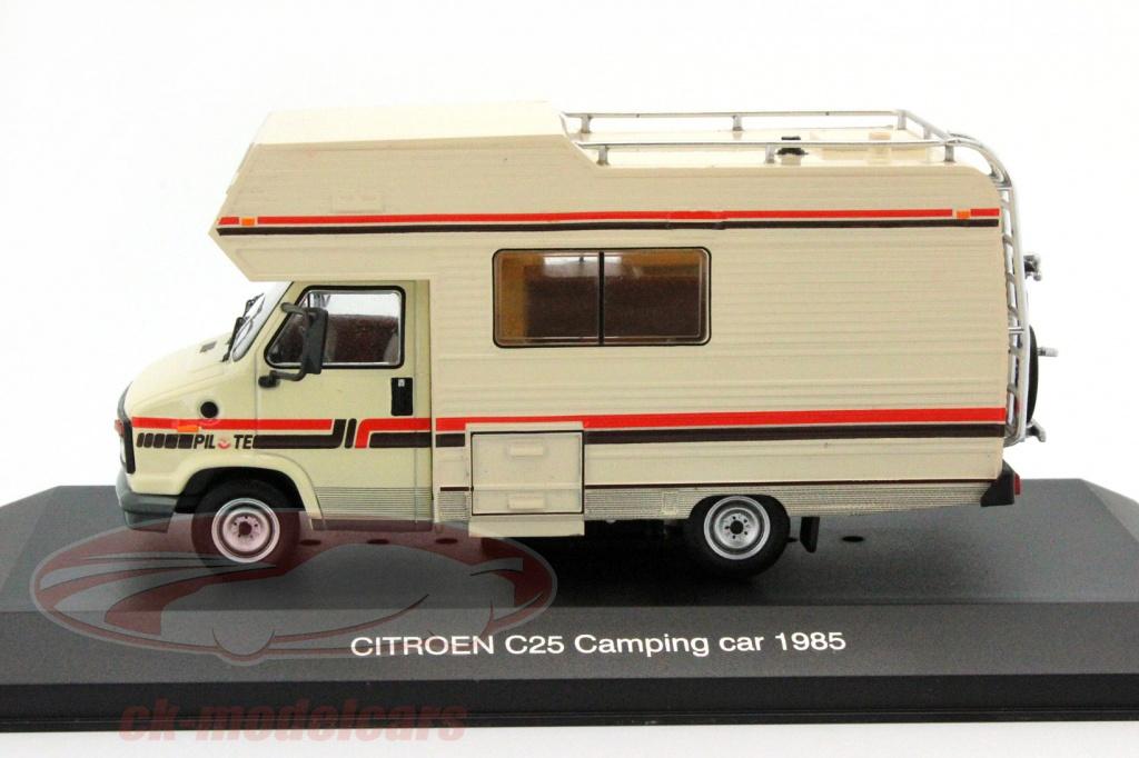 ck modelcars ixocac001 citroen c25 campamento coche a o de construcci n 1985 beige 1 43 ixo. Black Bedroom Furniture Sets. Home Design Ideas