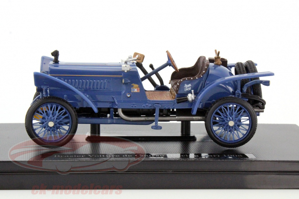 ck modelcars brasier voiture de course 1908 racing car azul 1 43 dongguan. Black Bedroom Furniture Sets. Home Design Ideas