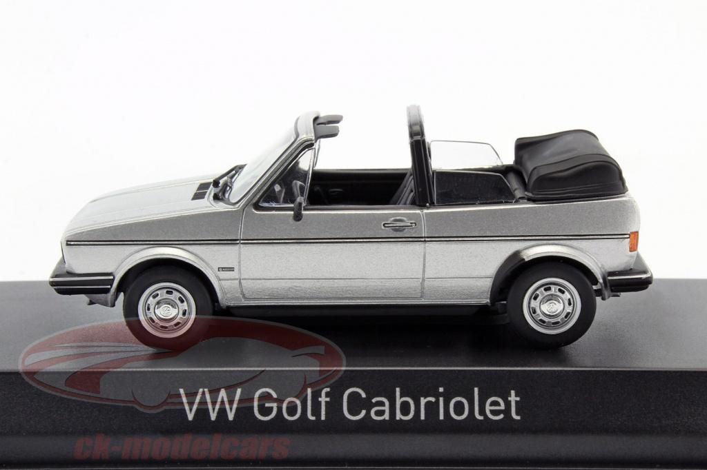 ck modelcars 840073 volkswagen vw golf cabriolet baujahr 1981 silber metallic 1 43 norev ean. Black Bedroom Furniture Sets. Home Design Ideas