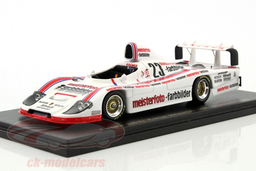 CK-Modelcars - RS1607: Stefan Bellof Kremer Porsche 936/82 #23 DRM ...