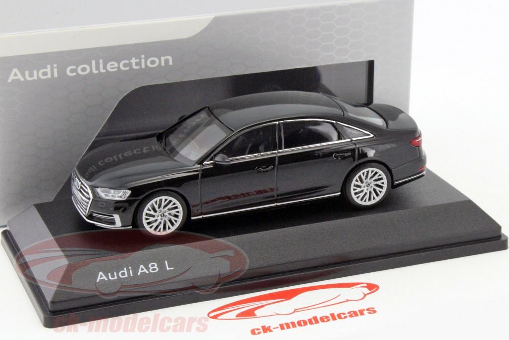 Audi A8 L Myth Black 1:43 IScale