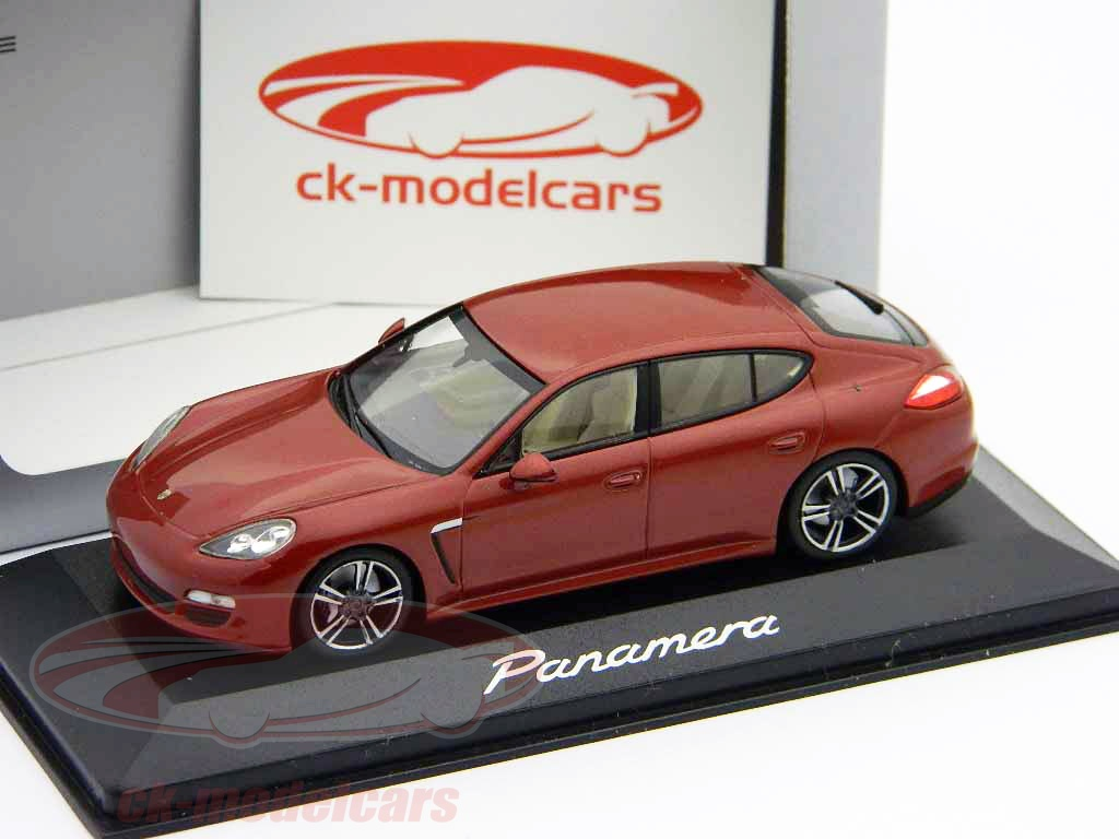 ck modelcars wap 020 00 119 porsche panamera red metallic 1 43 minichamps. Black Bedroom Furniture Sets. Home Design Ideas