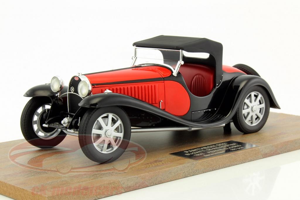 ck-modelcars - pantheon002: bugatti type 55 roadster year 1932 red