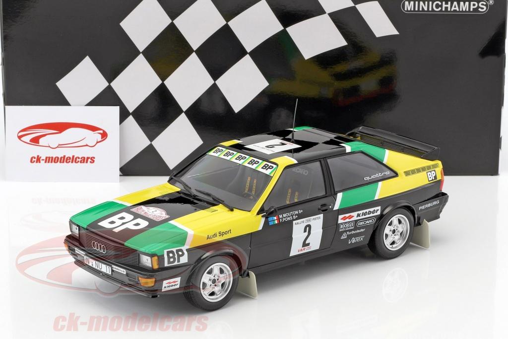 CK-Modelcars - 155811122: Audi Quattro #2 rally des 1000 Pistes 1981 on 1981 audi quartz, 1981 audi a1, 1981 audi coupe gt, 1981 audi a4, 1981 audi fox, 1981 audi wagon,