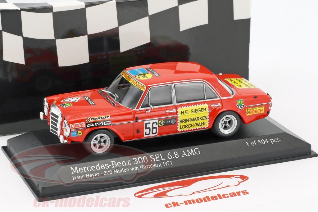 Ck modelcars 400723456 mercedes benz 300 sel 6 8 amg for International mercedes benz milwaukee