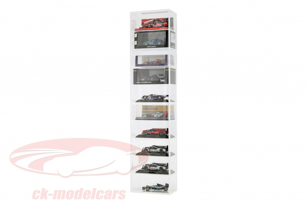 Ck modelcars ck99943001 model car tower showcase wall for Wall showcase models
