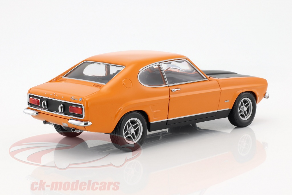 ck modelcars 150089077 ford capri rs 2600 year 1970 orange black 1 18 minichamps ean. Black Bedroom Furniture Sets. Home Design Ideas