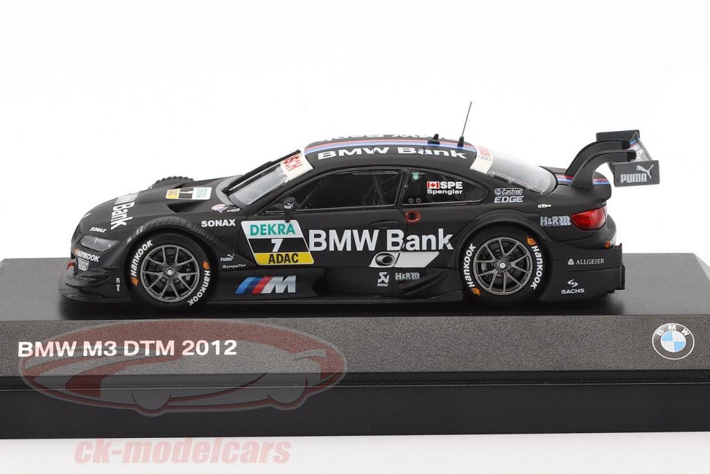 CK-Modelcars - 80422348082: Bruno Spengler BMW M3 DTM (E92) #7 DTM ...
