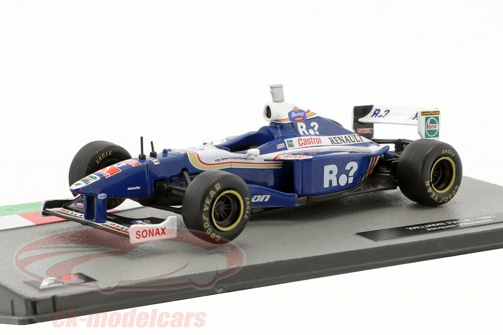 ck modelcars ck40284 jacques villeneuve williams fw19 3 weltmeister formel 1 1997 1 43 altaya. Black Bedroom Furniture Sets. Home Design Ideas