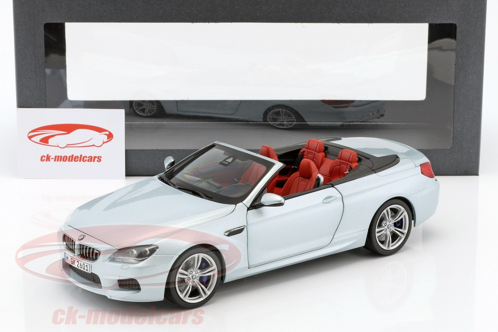 Paragonmodels 1 18 Bmw M6 Convertible Silverstone Ii Silver Paragon Models 80 43 2 253 656 Model Car 80 43 2 253 656 80432253656