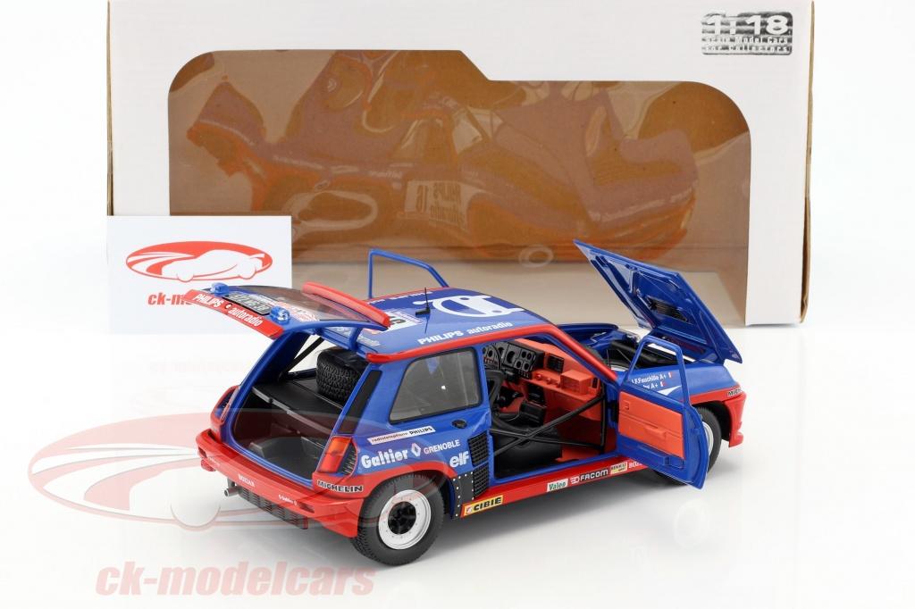 ck modelcars s1801301 renault r5 turbo gr b 16 tour de corse 1984 saby fauchille 1 18. Black Bedroom Furniture Sets. Home Design Ideas