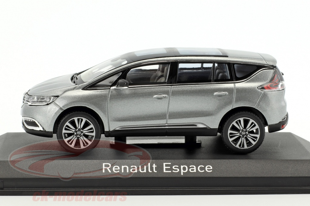 ck modelcars 517944 renault espace initiale paris year 2015 cassiopee gray 1 43 norev ean. Black Bedroom Furniture Sets. Home Design Ideas