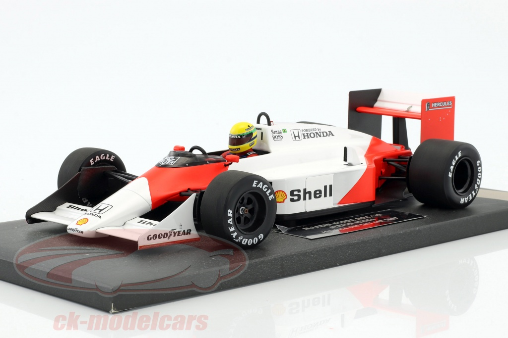 ck modelcars 547871899 ayrton senna mclaren mp4 3 test car formule 1 1987 1 18 minichamps. Black Bedroom Furniture Sets. Home Design Ideas