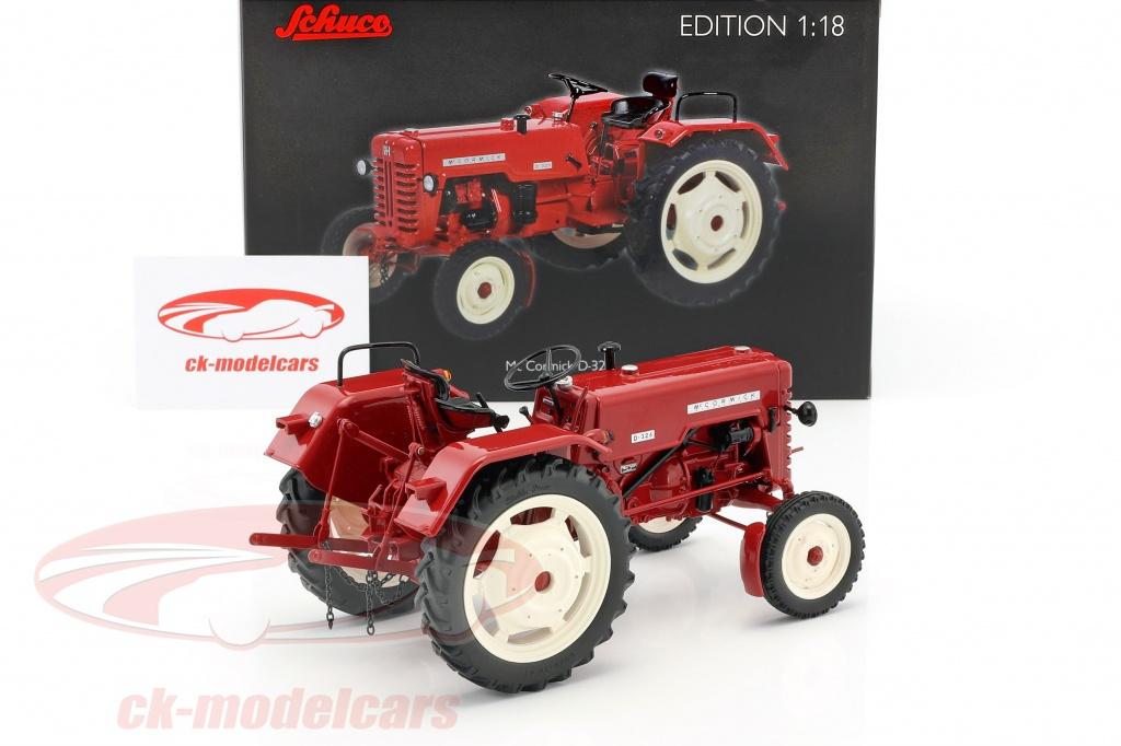 ck modelcars 450016600 mc cormick d326 tracteur rouge 1. Black Bedroom Furniture Sets. Home Design Ideas