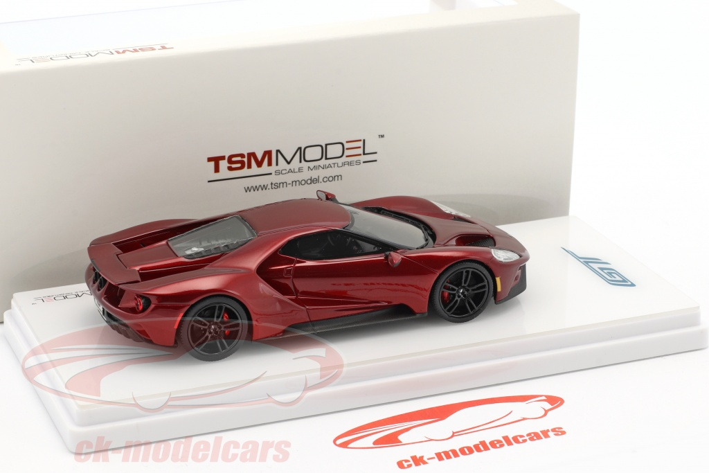Ford Gt Construction Year  Liquid Red  True Scale