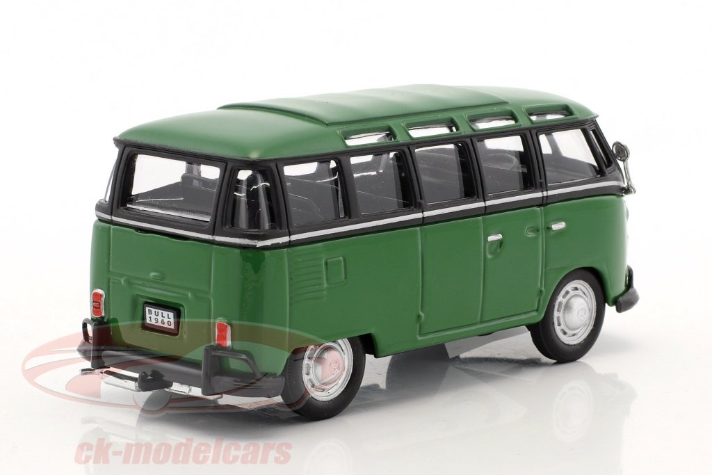 ck modelcars 4 60344 volkswagen vw t1 samba bus gr n. Black Bedroom Furniture Sets. Home Design Ideas