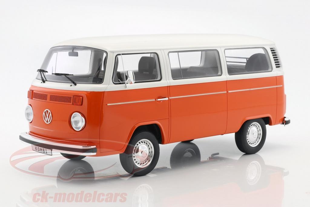 ck modelcars g026 volkswagen vw kombi t2 bus year 1978 orange white 1 12 ottomobile ean. Black Bedroom Furniture Sets. Home Design Ideas