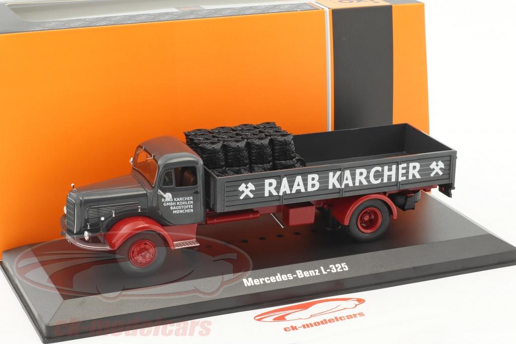 Rub Baustoffe ck modelcars tru029 mercedes l 325 raab karcher with cargo