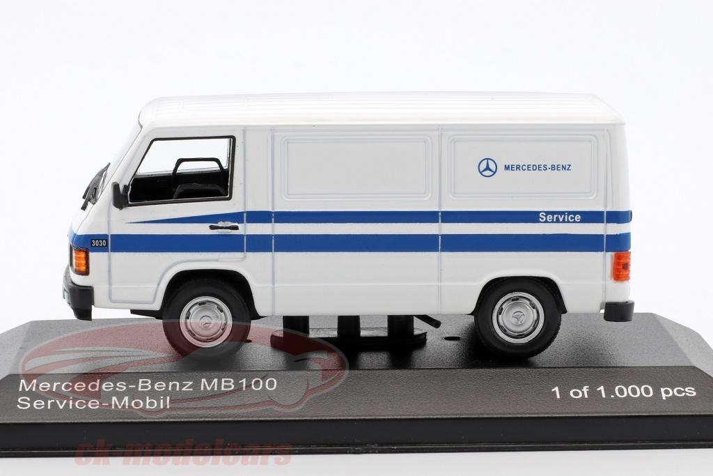 Ck modelcars wb266 mercedes benz mb 100 van mercedes for Mercedes benz job application