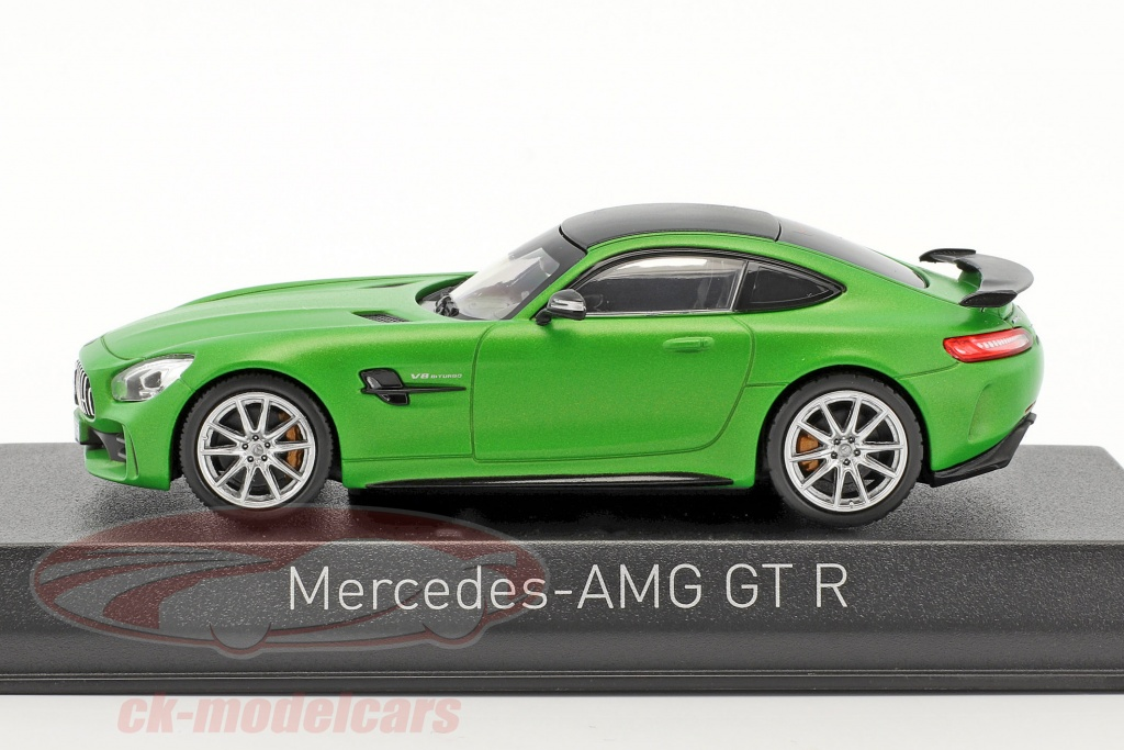ck modelcars 351349 mercedes benz amg gt r year 2017 green mat metallic 1 43 norev ean. Black Bedroom Furniture Sets. Home Design Ideas