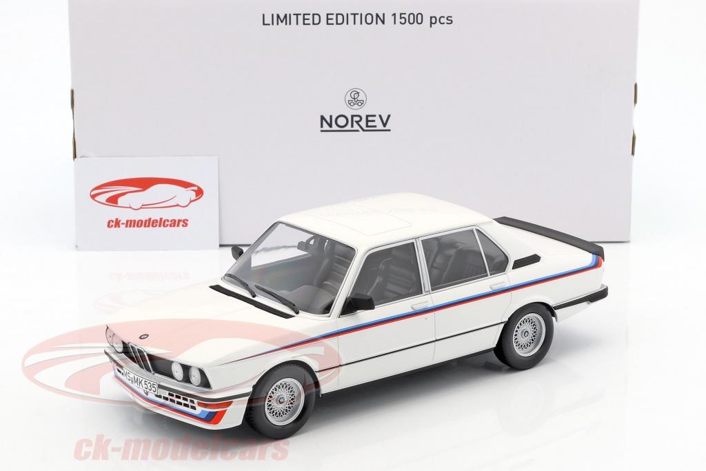 CK-Modelcars - 183265: BMW M535i E12 Year 1980 white 1:18 Norev, EAN ...