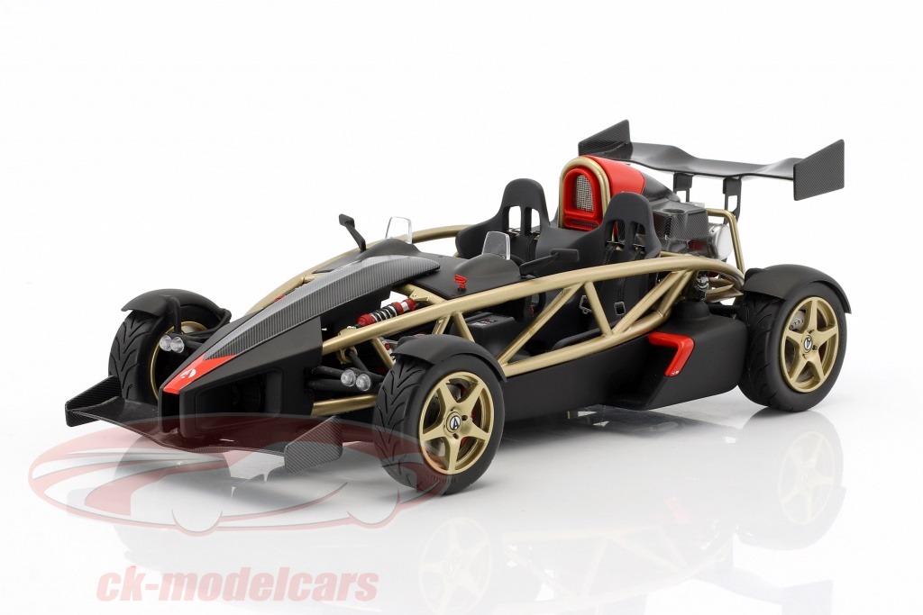 ck modelcars sm001 ariel atom v8 gold black 1 18 soul. Black Bedroom Furniture Sets. Home Design Ideas