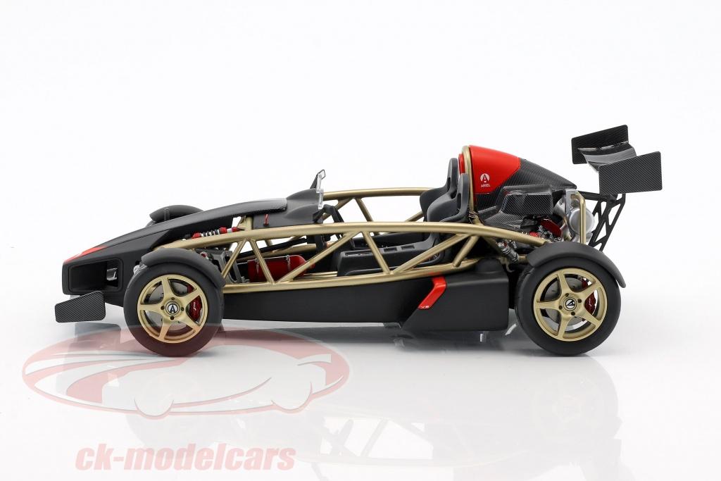 CK-Modelcars - SM001: Ariel Atom V8 gold / black 1:18 Soul Models