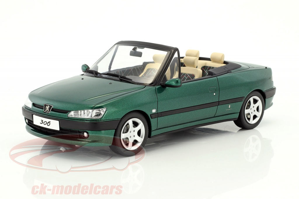 ck modelcars ot583 peugeot 306 cabriolet roland garros. Black Bedroom Furniture Sets. Home Design Ideas