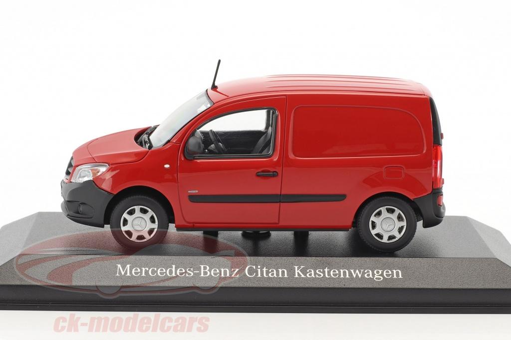 Ck modelcars b6 600 4123 mercedes benz citan panel van for Mercedes benz panel van