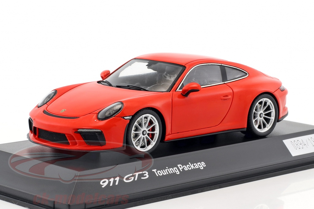 ck modelcars wap0201640j porsche 911 991 ii gt3 touring package 2017 lava orange 1 43 spark. Black Bedroom Furniture Sets. Home Design Ideas