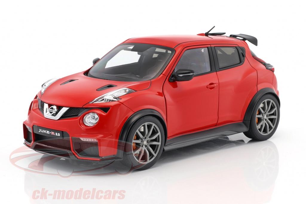 Ck modelcars 77457 nissan juke r 2 0 baujahr 2016 rot 1 for Nissan juke schwarz rot