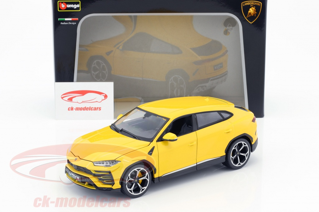 Bburago 1 18 Lamborghini Urus Yellow 18 11042y Model Car 18 11042y 4893993010929