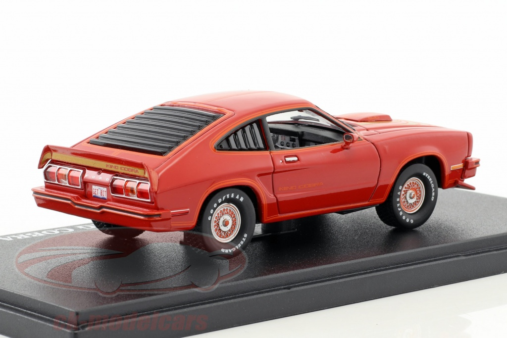 Ck Modelcars 86321 Ford Mustang Ii King Cobra Year 1978 Red 143