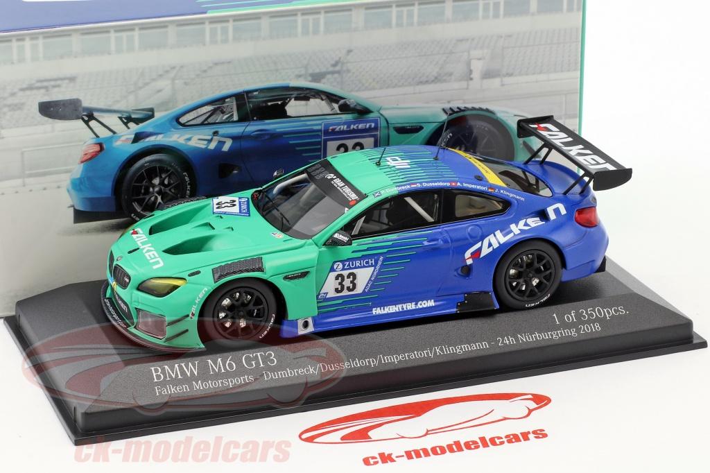 Spark 1:18 BMW M6 GT3 Falken 24H Nürburgring 2019 Dumbreck//Dusseldorp//Klingmann