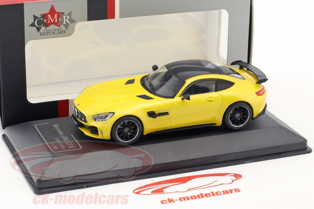 Mercedes Benz Amg Gt R Solarbeam Yellow 1 43 Cmr