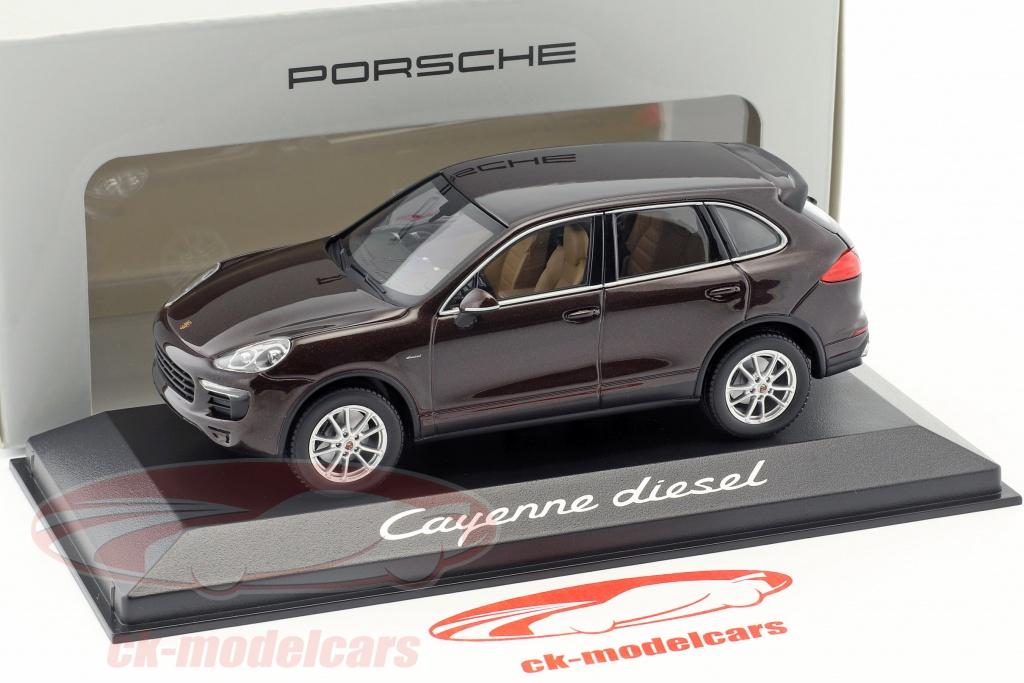 Minichamps 1:43 Porsche Cayenne diesel 2014-Brown