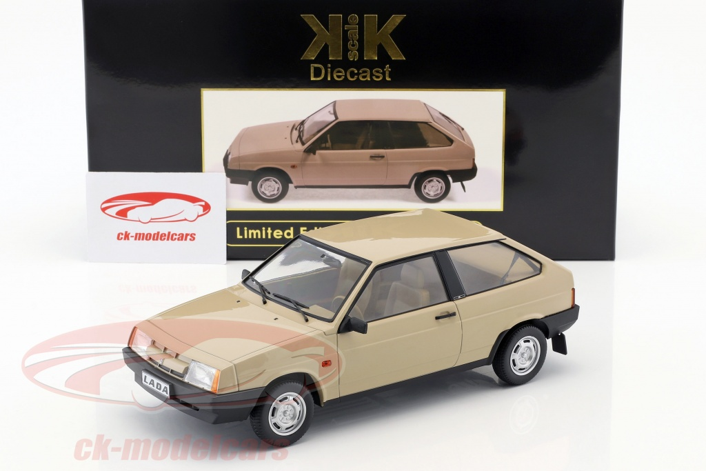 kk scale 1 18 lada samara year 1984 tan kkdc180211 model car kkdc180211 lada samara year 1984 tan 1 18 kk scale