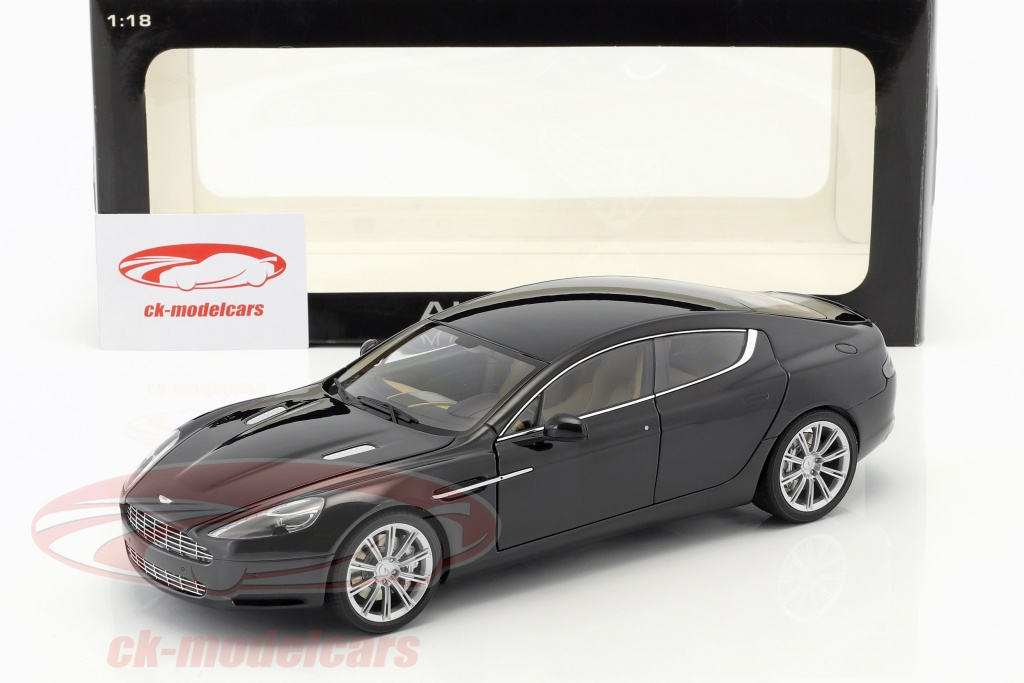 Cars Trucks Vans Aston Martin Rapide Black 1 18 Diecast Model Car By Autoart 70216 Labaguettepattaya Com