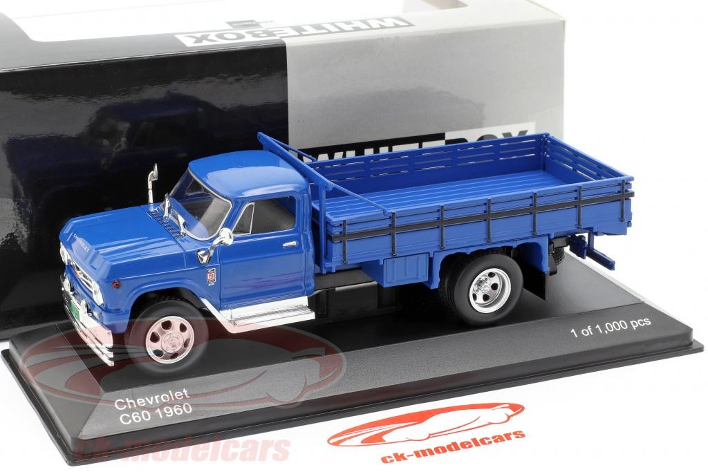 1:43 White Box Chevrolet C60 1960 blue